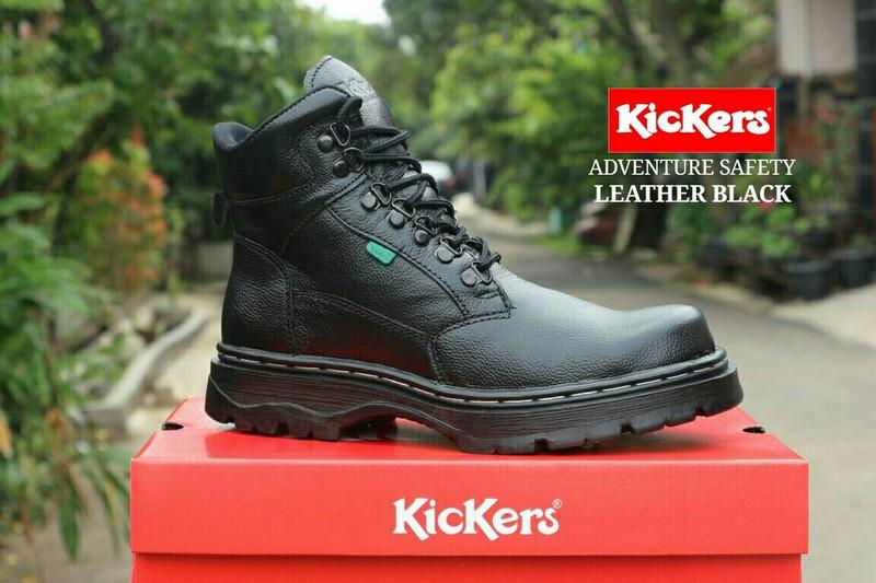 Sepatu Boots Kickers Safety Pria