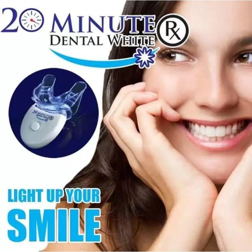 Review As Seen On Tv Alat Pemutih Gigi 20 Menit Dental White Putih