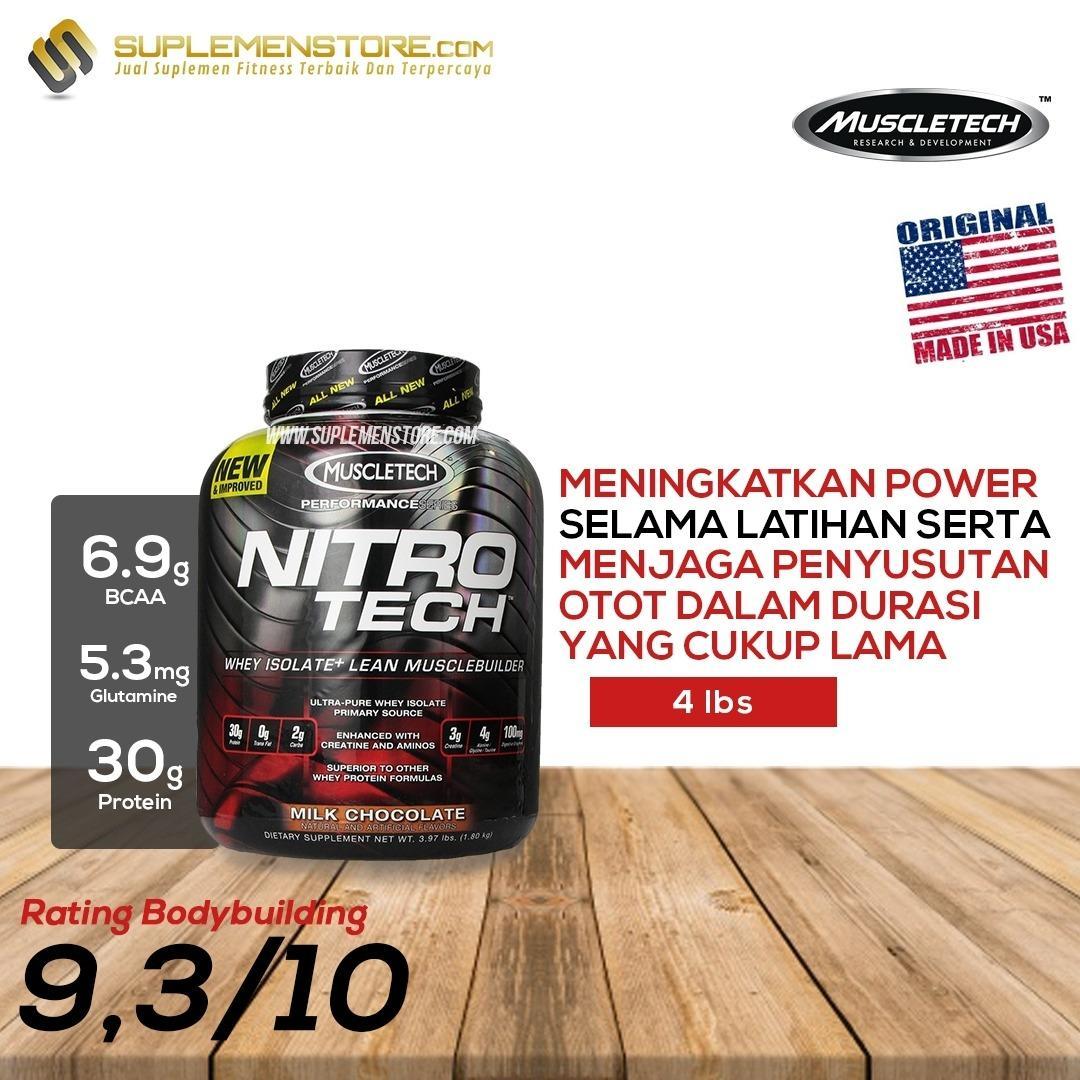 Beli Muscletech Nitrotech H*rdc*r* Performance Bpom 4 Lb Murah