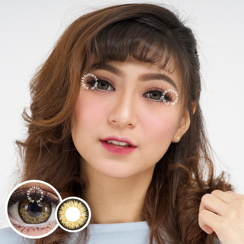 Beli Dreamcolor1 Soul Softlens Brown Gratis Lens Case Kredit
