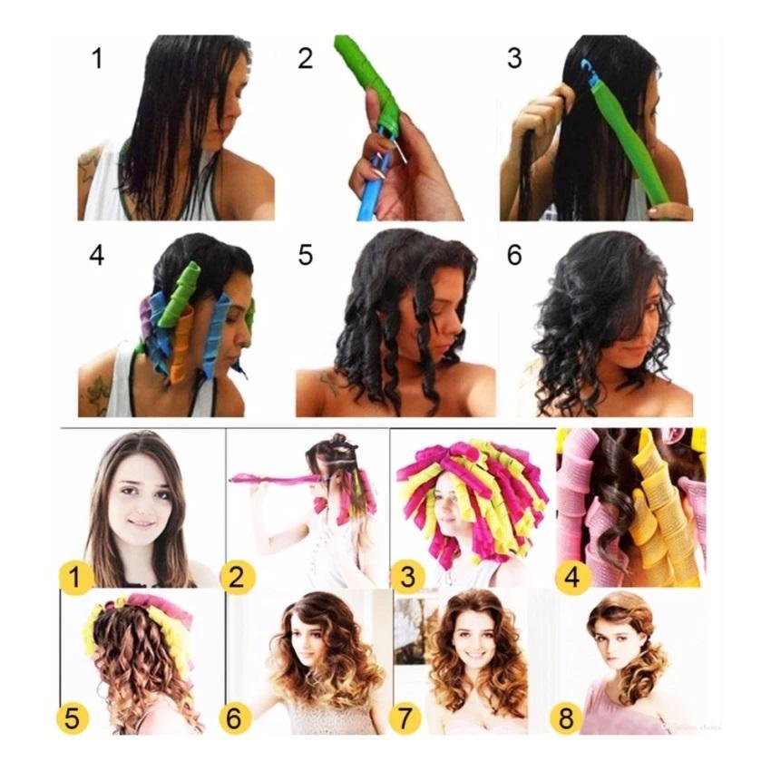 Rambut Keriting 3.jpg. Spesifikasi dari Magic Leverage - Alat Pengeriting Rambut