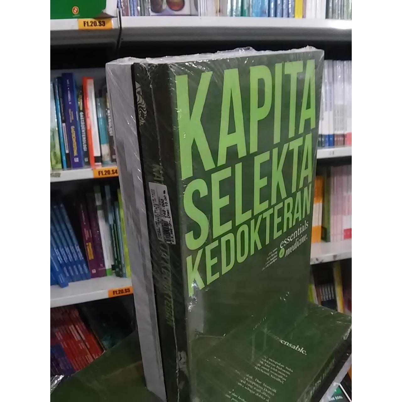 Buku Kapita Selekta Kedokteran Jilid I & II Edisi IV - 2