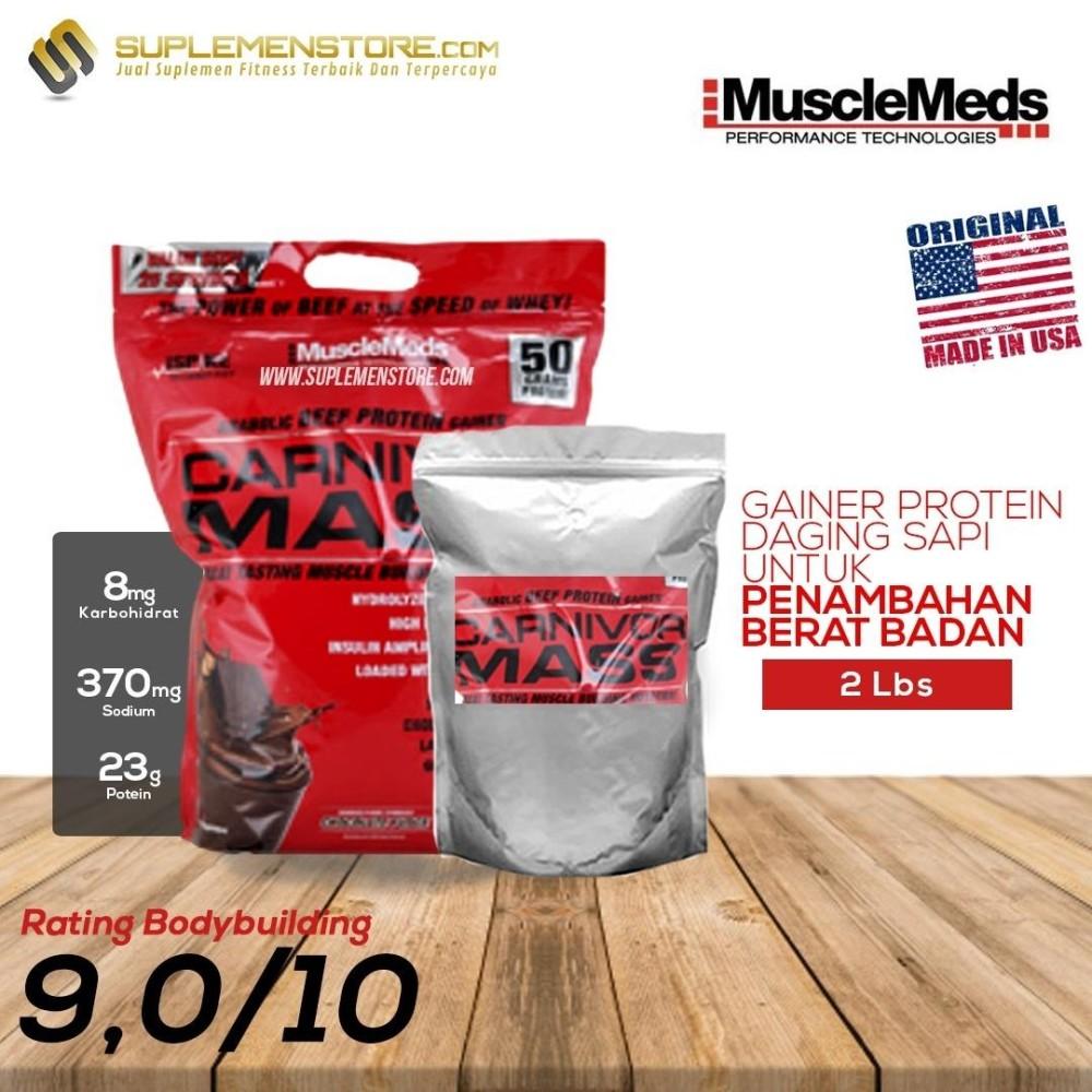 Harga Musclemeds Carnivor Mass Eceran 2Lb Cokelat Online