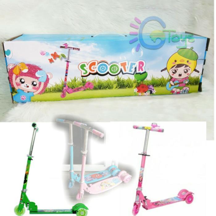Skuter Anak 3 Roda Otoped Scooter Mainan