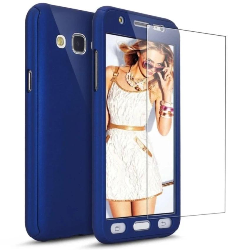 Case Hardcase Fullhardcase 360 for Samsung Galaxy J7 Pro (2017) Free Tempered Glass - NU0403