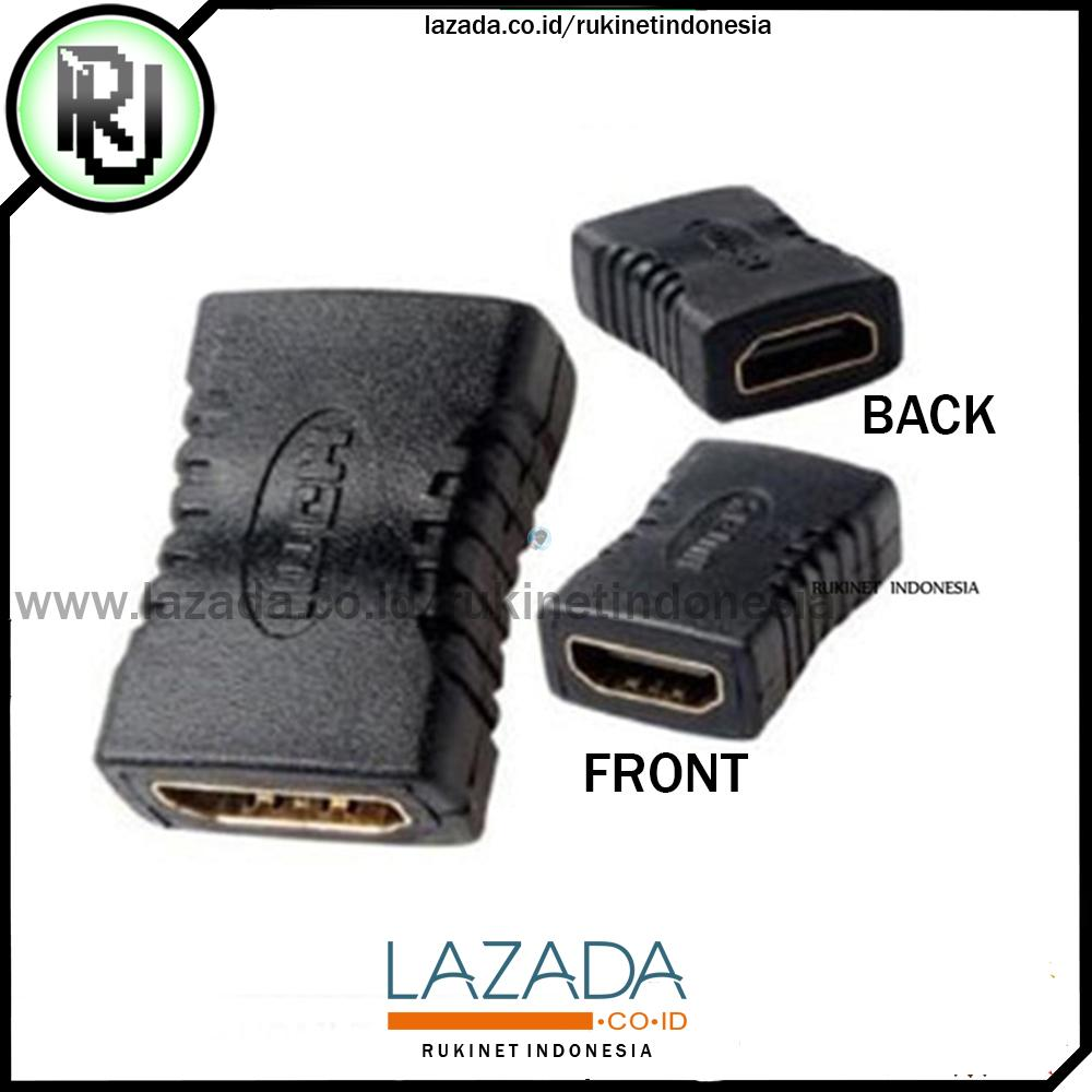 Adapter HDMI Female To HDMI Female - Penyambung Kabel HDMI