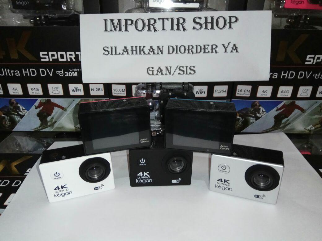 Fitur Action Camera Digital Kogan 4k Wifi Sport Cam Gopro Dan Kamera Go Pro Ultra Hd 4