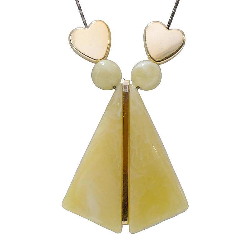 Detail Gambar OFASHION Aksesoris Kalung Wanita [Panjang 78CM] Necklace Fashion Xuping Jewelry CA-180509-K020 Krem Terbaru