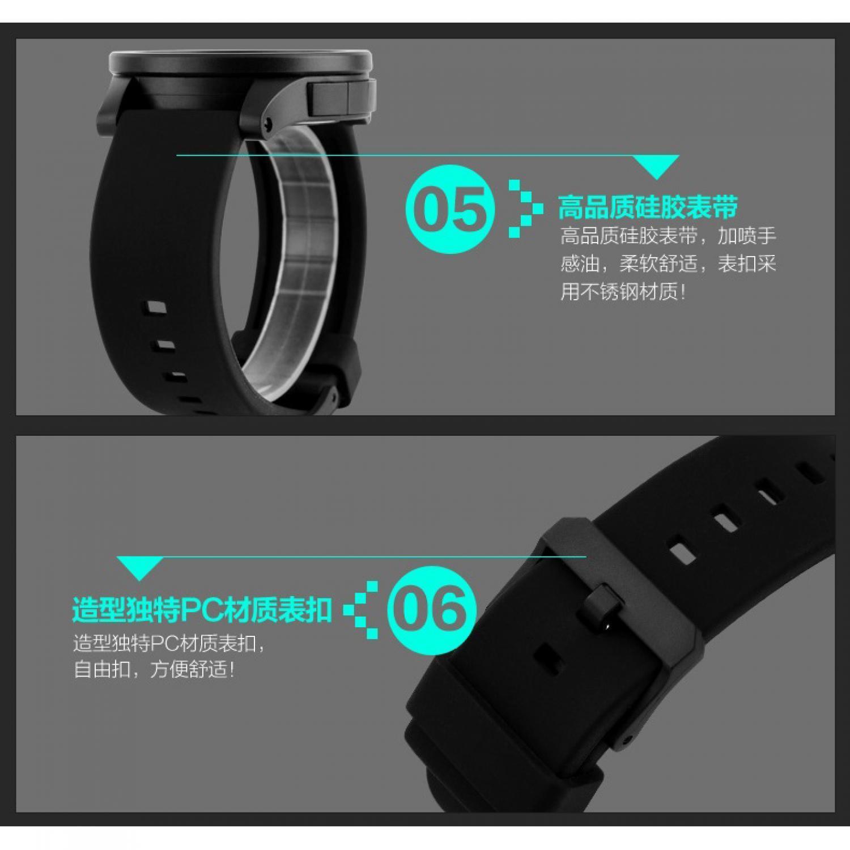 Lihat Skmei Trendy Men Led Display Watch Water Resistant 50m Dg1142 Jam Tangan Pria Analog Keren 9069cs Black Hitam Pink