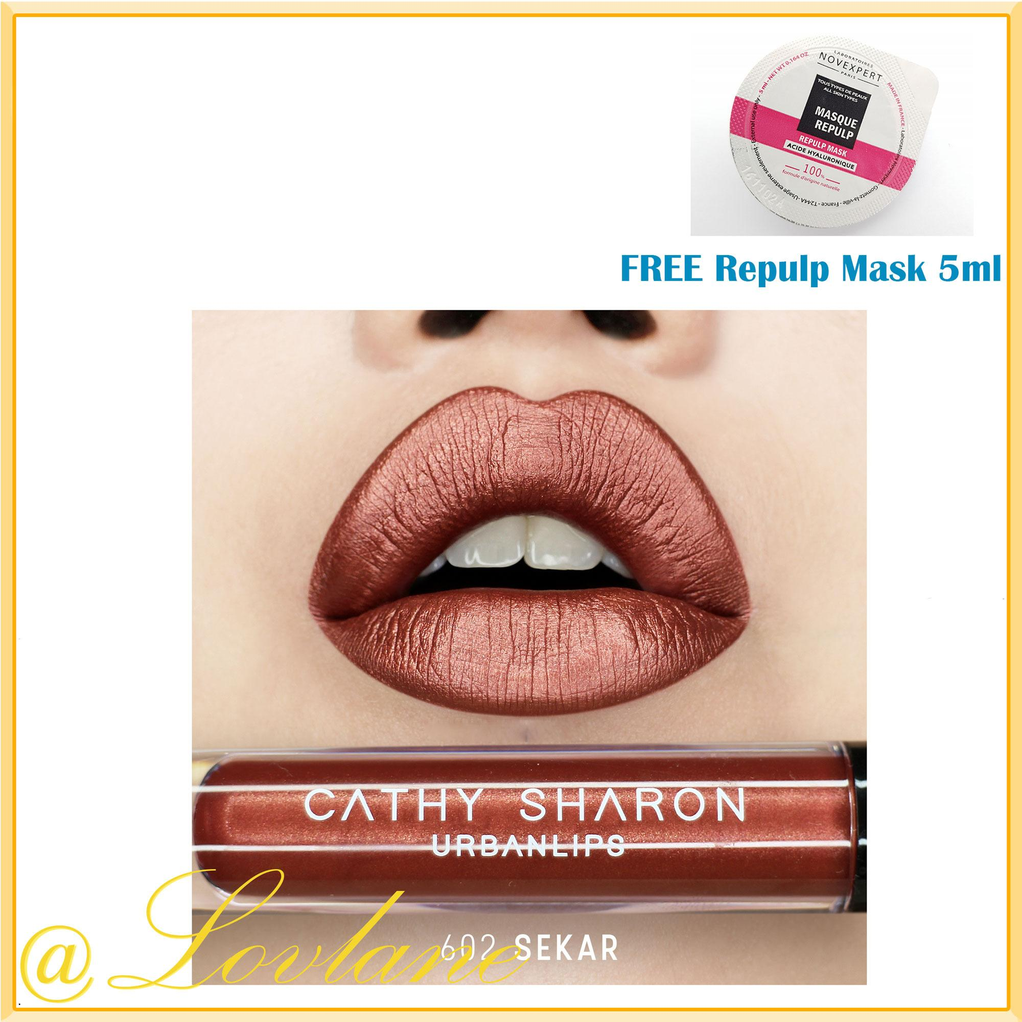 Review Cathy Sharon Urbanlips 602 Sekar Original Di Indonesia