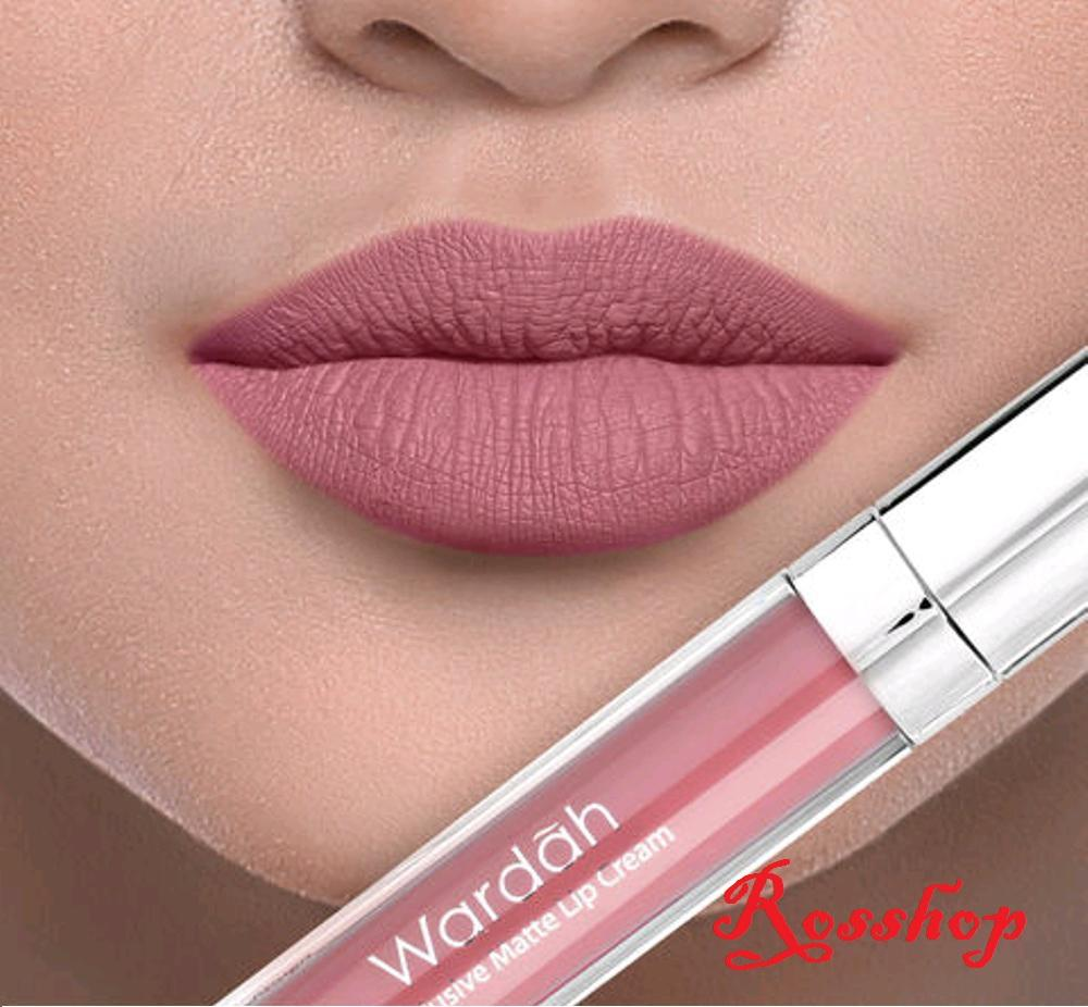 Wardah Exclusive Matte Lip Cream - 09 Mauve On