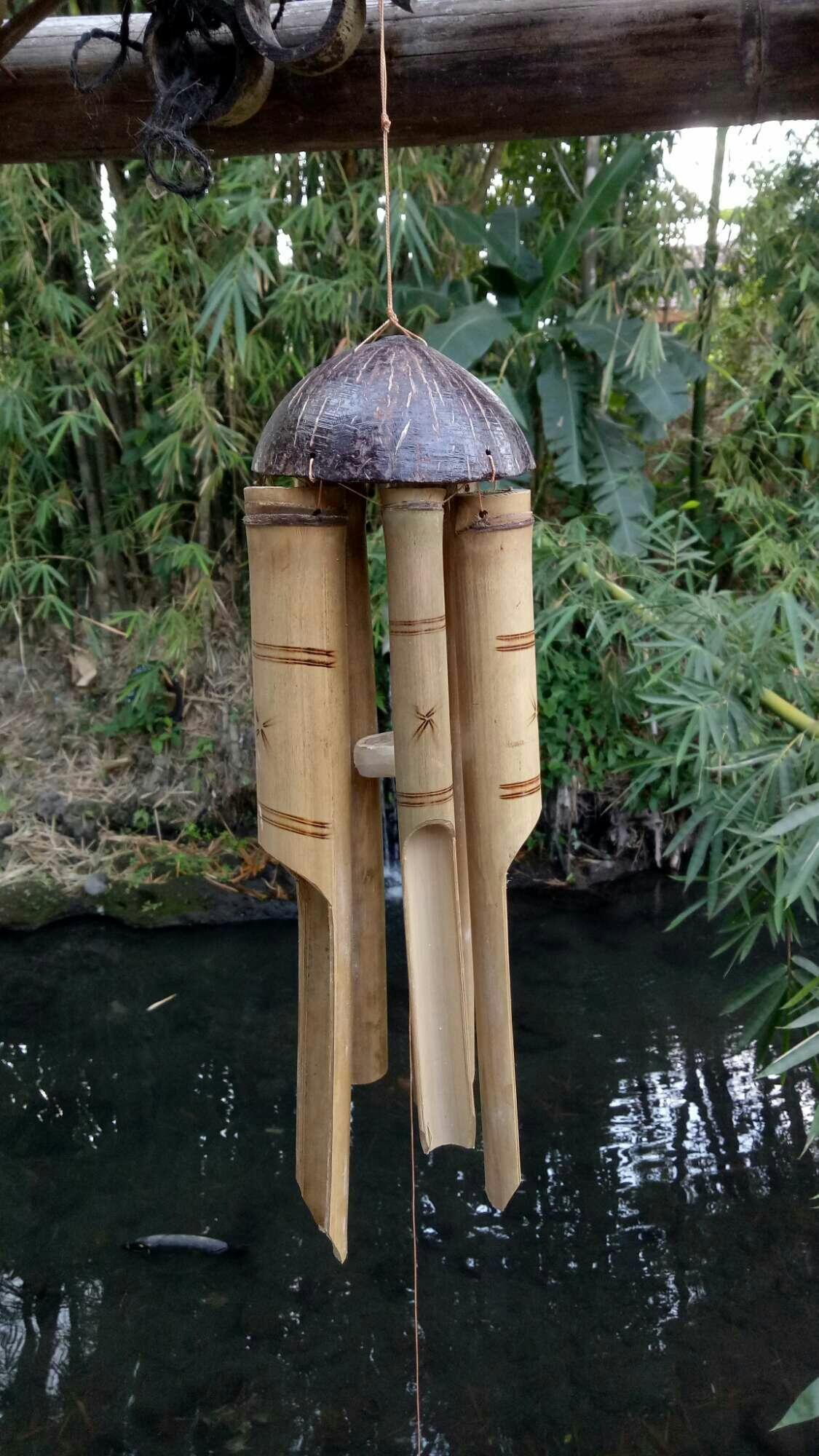 Bamboo wind bell /kentongan angin