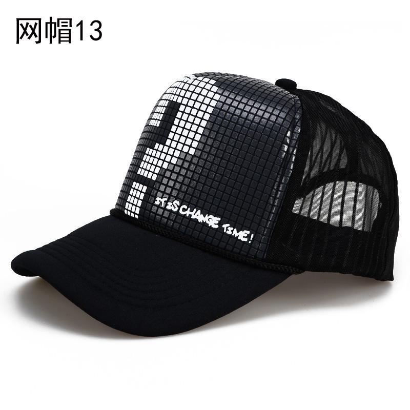 Topi jaring pria musim dingin pelindung sinar matahari Pelindung Terik  Matahari topi bisbol wanita Gaya Korea 65297d809b