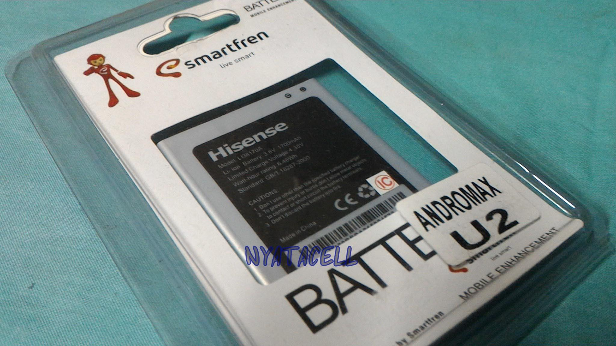 Smartfren Battery Li38170a Original For Andromax U2 Silver Review Source · BEST OFFER Baterai Smartfren Andromax U2 1700mAh Smartfren Ori 99 Max Batre