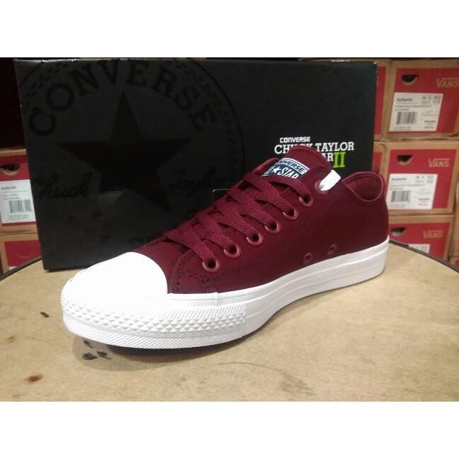 Sepatu Converse All Star Ct 2 Lunarlon Maroon Premium Original Bnib - Vvcrnd bba99f47cb