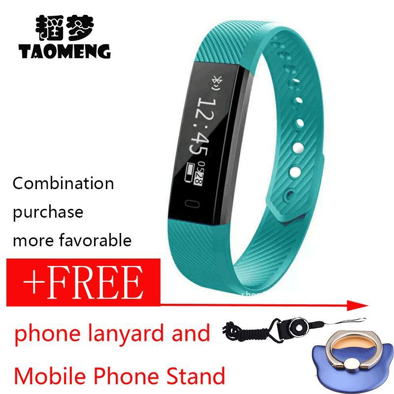 Toko Asli Id115 Smart Gelang Kebugaran Tracker Watch Jam Alarm Langkah Counter Smart Gelang Band Olahraga Tidur Monitor Smartband Untuk Ios Android Pk Mi 2 Intl Oem Tiongkok