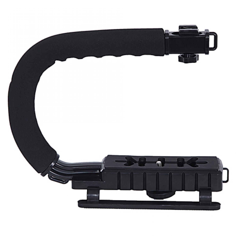 Cek Harga Baru Handle C Camera Stabilizer Grip Video Shape For Dslr Metal Lid Pov Extendable Pole Monopod 49 Cm Gopro Xiaomi Yi Blue