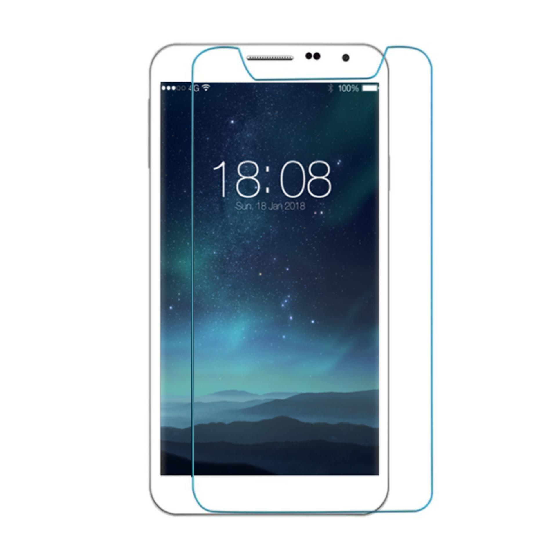 Case Dyval Flipcover Advan vandroid S5E NXT Ungu + free tempered glass -