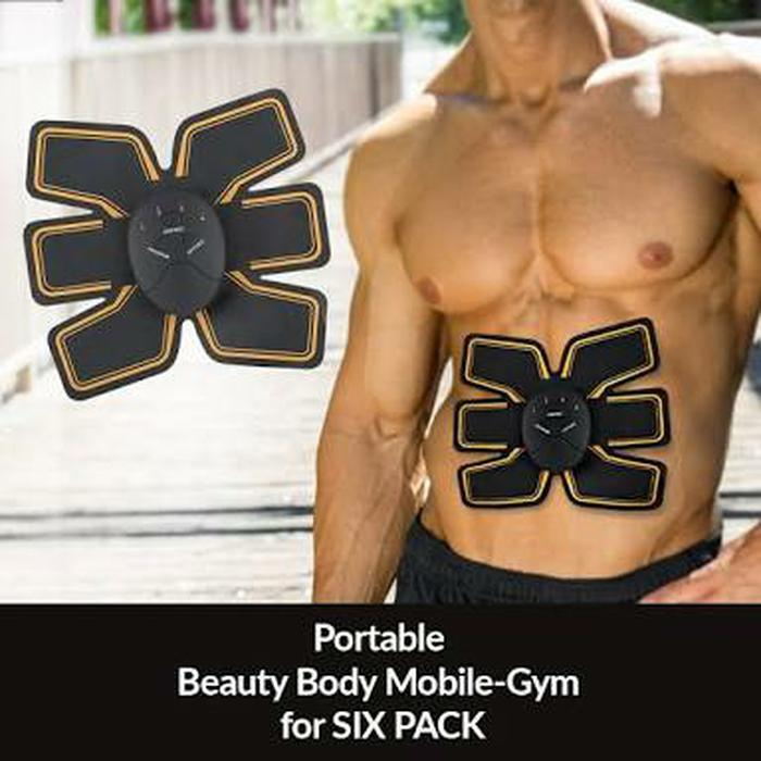 HARGA PROMO!!! Six Pad Sixpad Beauty Body Mobile-Gym Smart Fitness Six Pack - A8VBF2