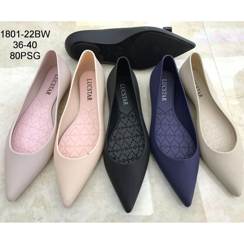 Jelly SHoes Flat Dwiney Sepatu Wanita - Flat Shoes Jelly 1801