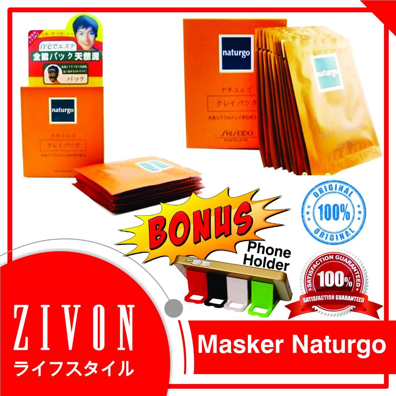 Masker Lumpur Naturgo Emas Shiseido Gold Mas 24k 10pcs Daftar Wajah Muka Beli 1 Gratis 4