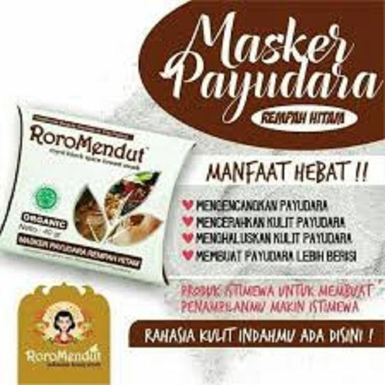 Masker Payudara Rempah Hitam by Roro Mendut