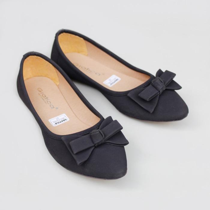 SEPATU FLAT SHOES FLATSHOES GRATICA KH28 HITAM   sepatu wanita termurah   sepatu  wanita terbaru   4d764b5f70