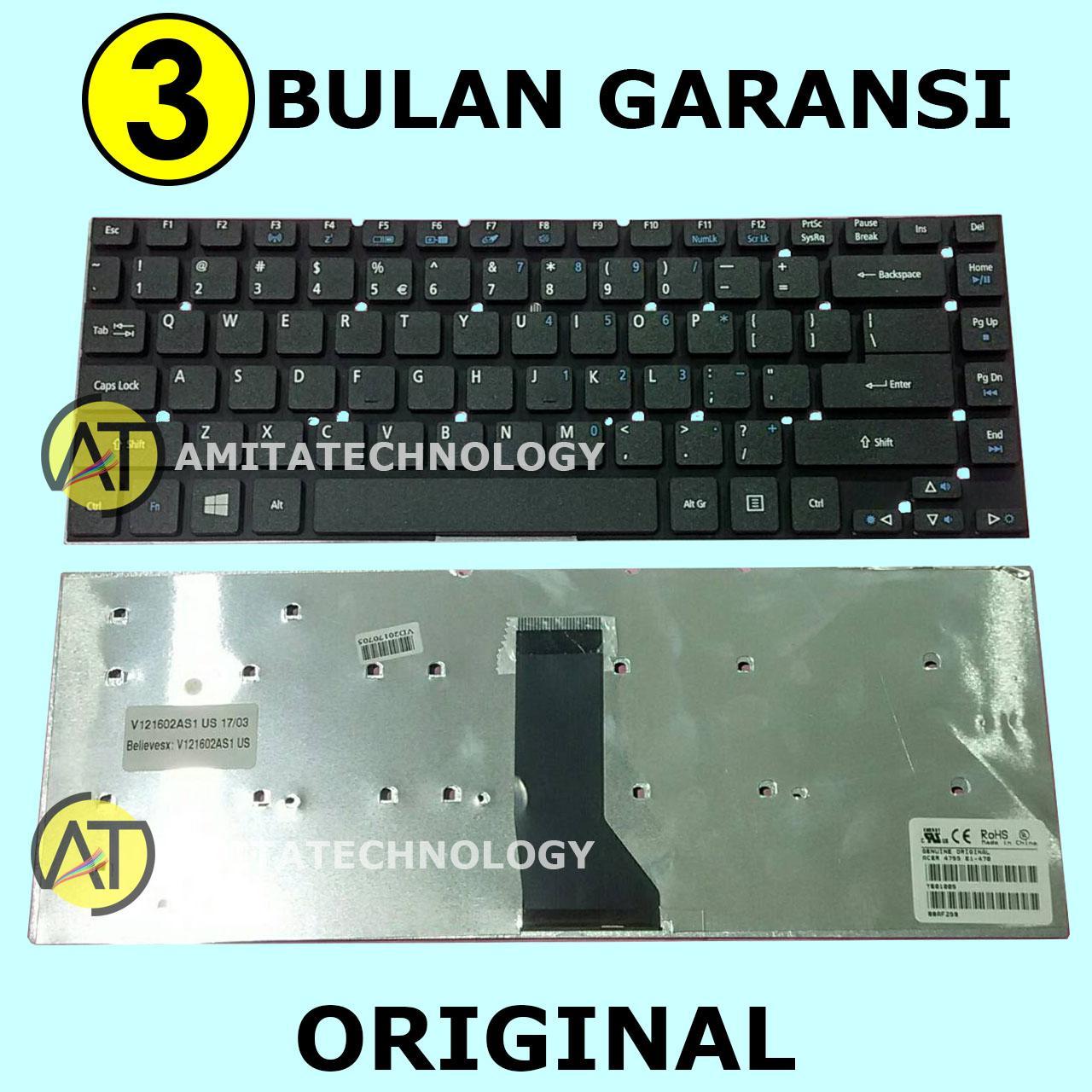 Amita - Keyboard Laptop ORIGINAL Acer 4755 V3-471 E1-470