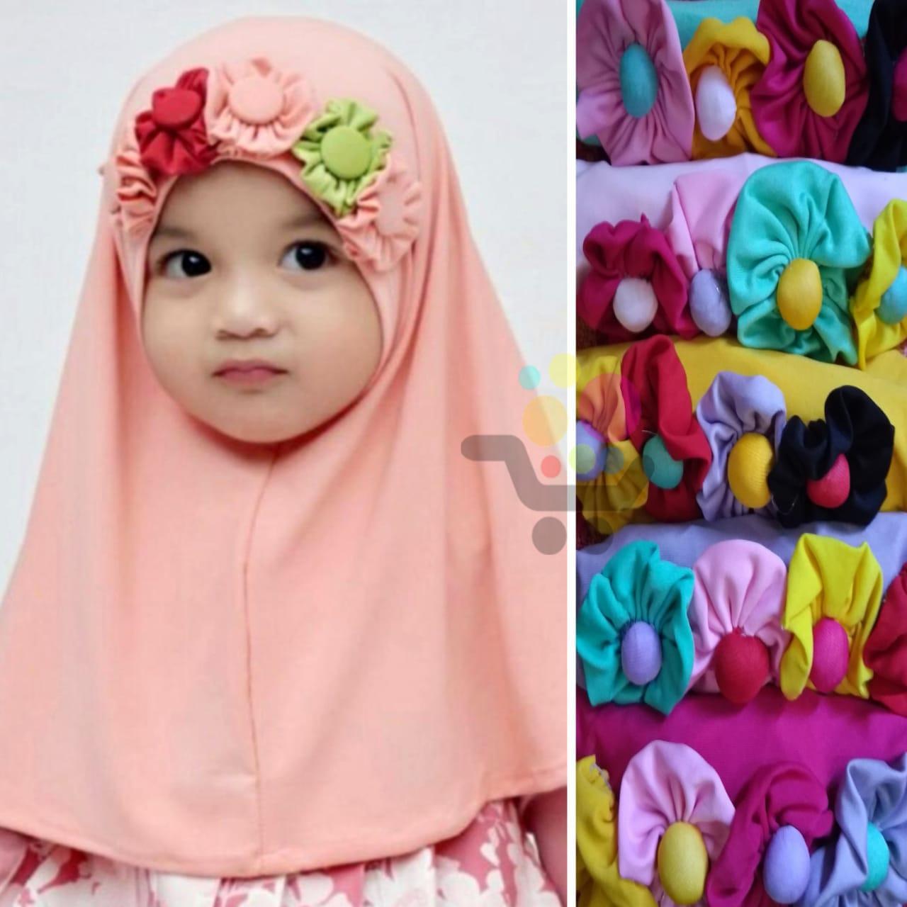 Features 3 Pcs Hijab Anak Bayi Beda Model Jilbab Anak Bayi Murah Dan