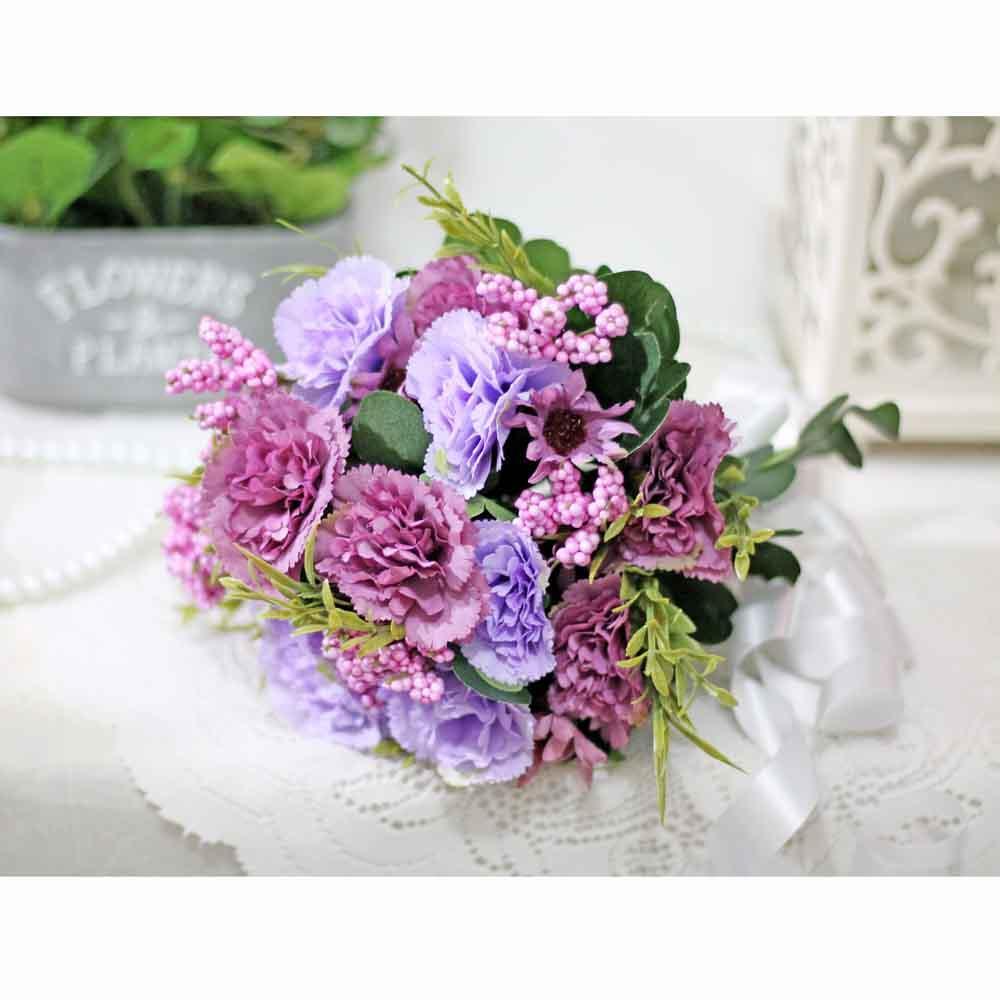 bunga plastik artificial handbouquet hand bouquet anyelir carnation 6 6f8b6ac993