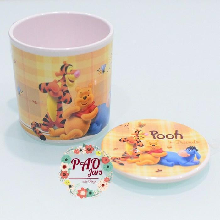 Detail Gambar gelas melamin winne the pooh / gelas minum / gelas winnie the pooh Terbaru