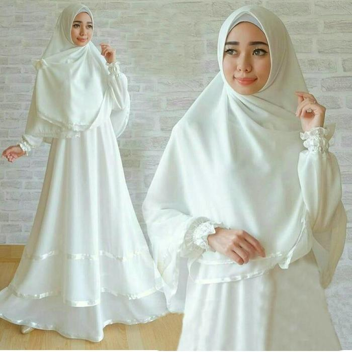 anggun-syari-white-gamis-busui-syari-warna-putih-busana-muslim RSN