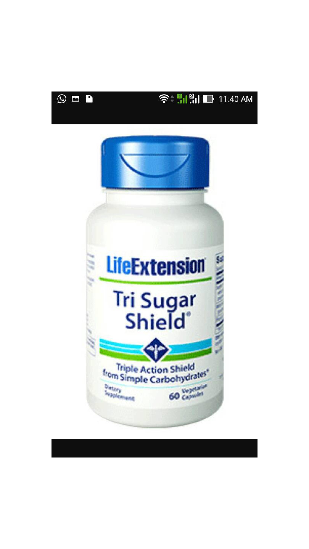 Tri Sugar Shield. 60's Life Extension