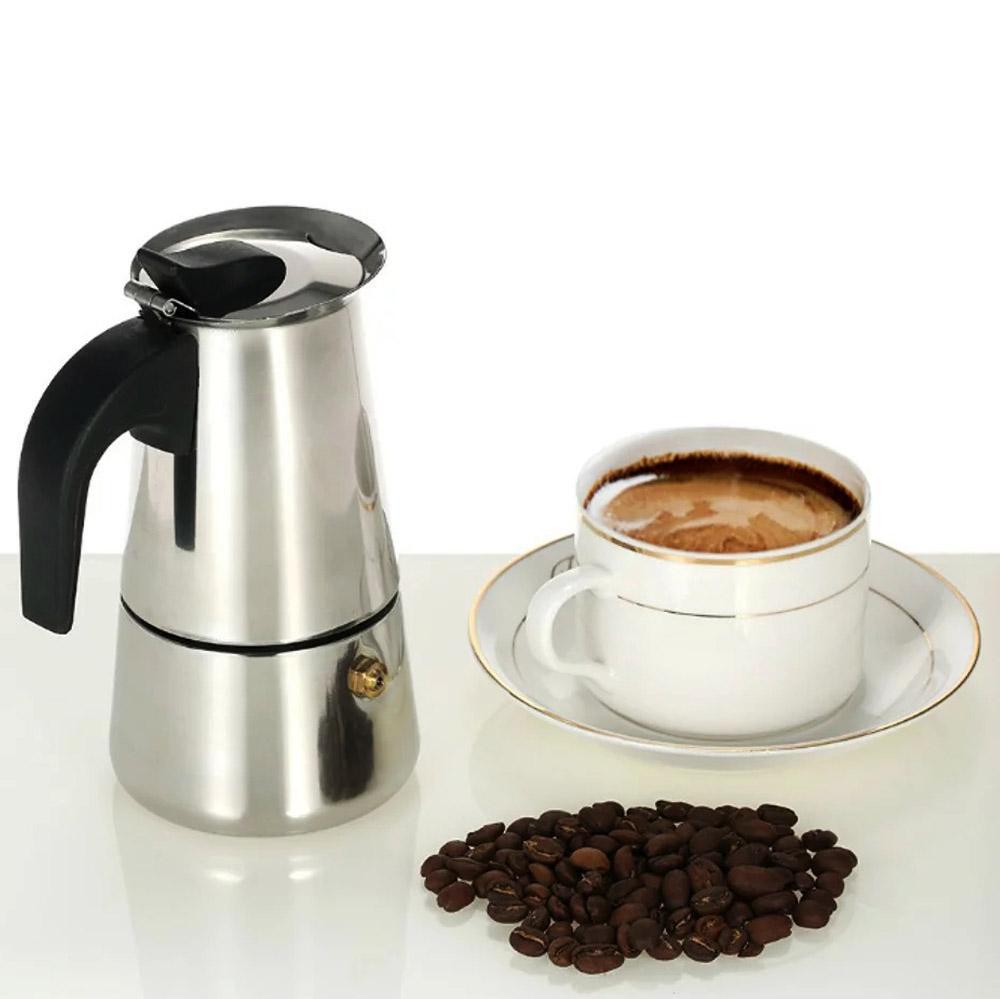 Toko David 9 Cup Stainless Steel EXPRESSO MAKER / pembuat kopi espresso / moka pot