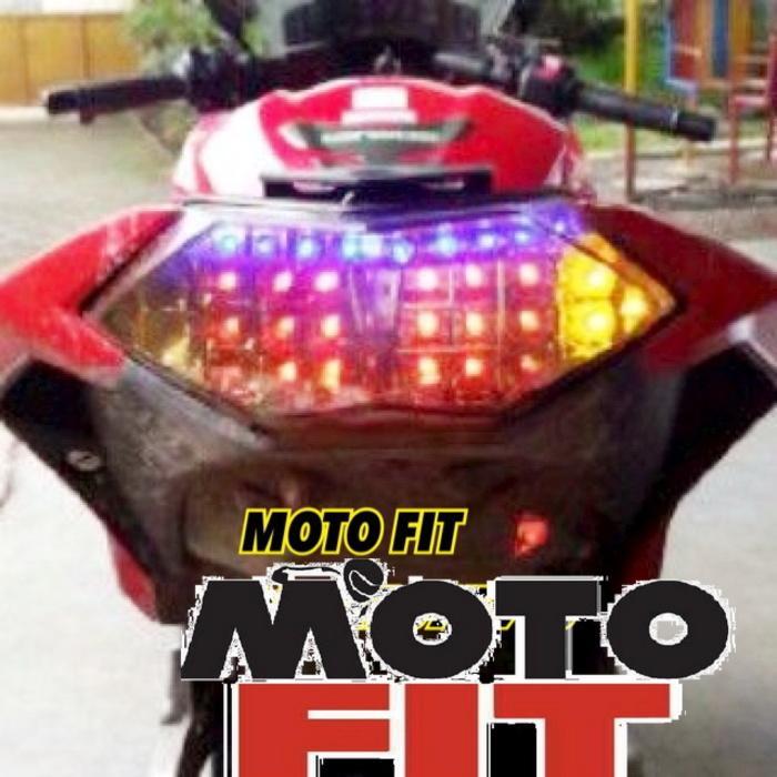 Lampu Stop MOGE Style + Sen Led Laser Ninja 250 Fi Dan Z250 Stop Lamp