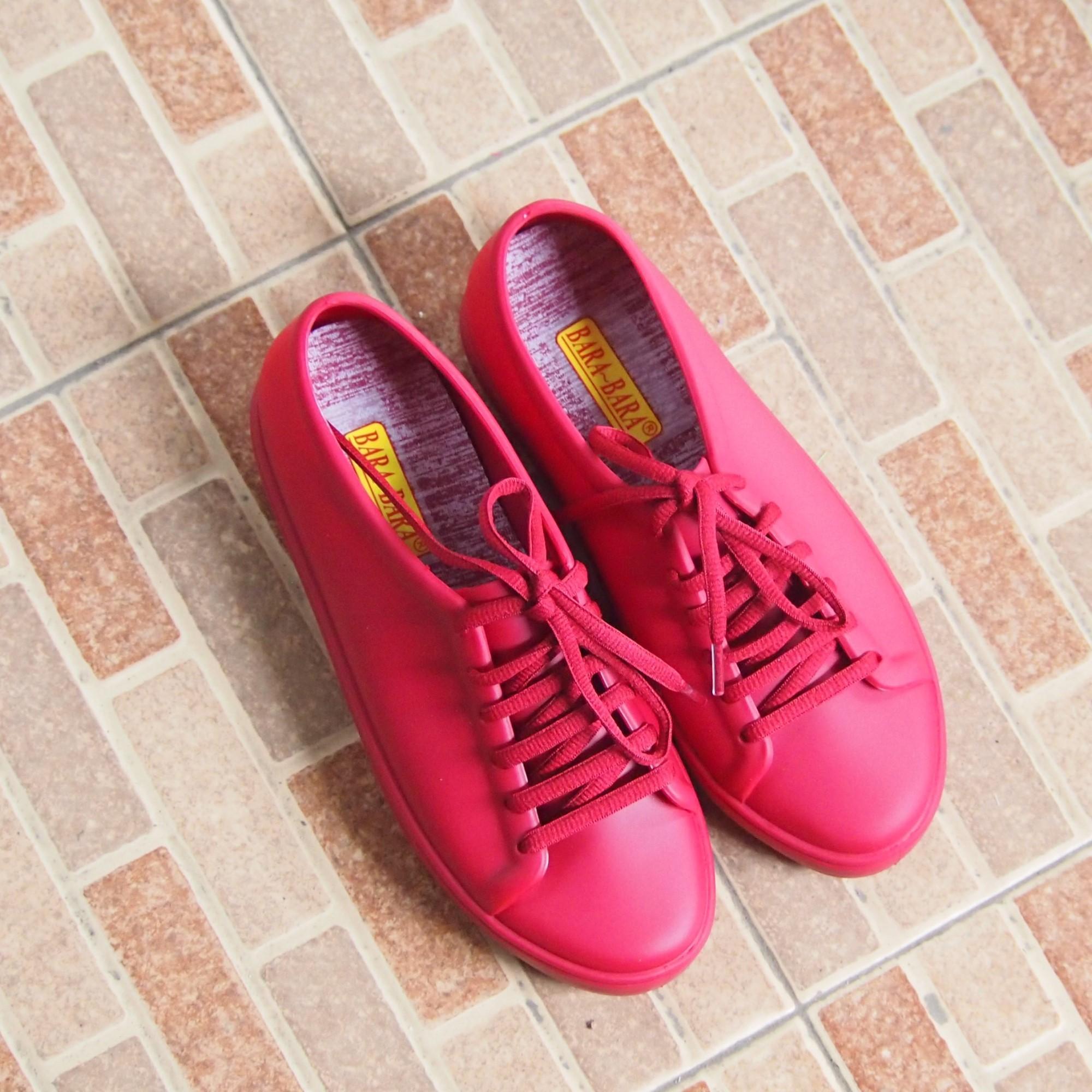 ... Bara - Bara Jelly Shoes Sneakers Wanita Sporty JLBR01 Warna Dikirim Random - 5