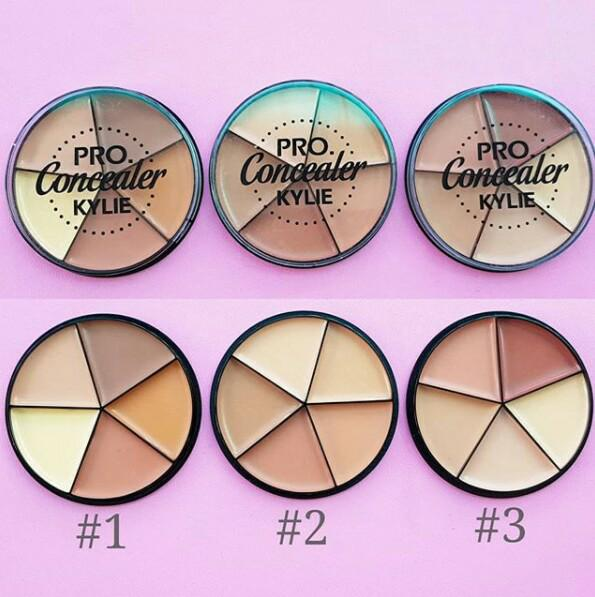 Pro Concealer Kylie 5 Color Foundation Concealer For Shading Contouring - Warna 02