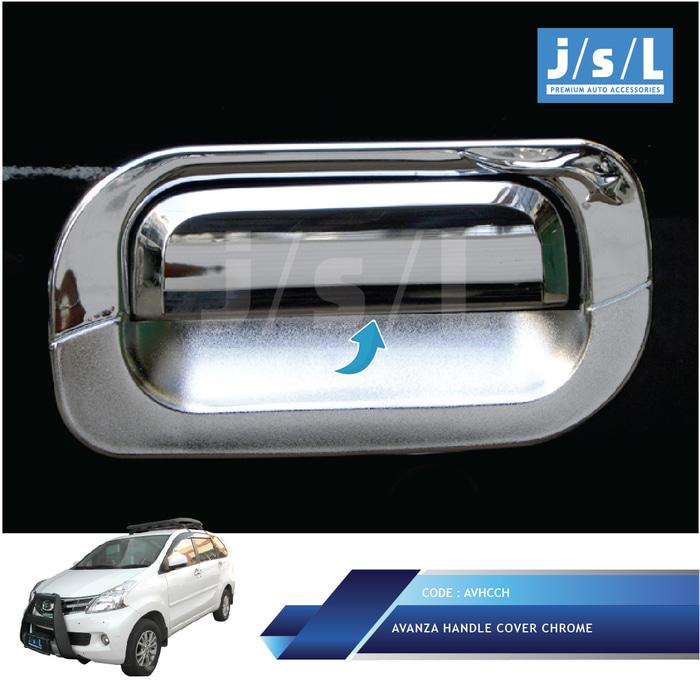 Toyota New Xenia Vvti 2008 2011 Handle Cover Chrome JSL