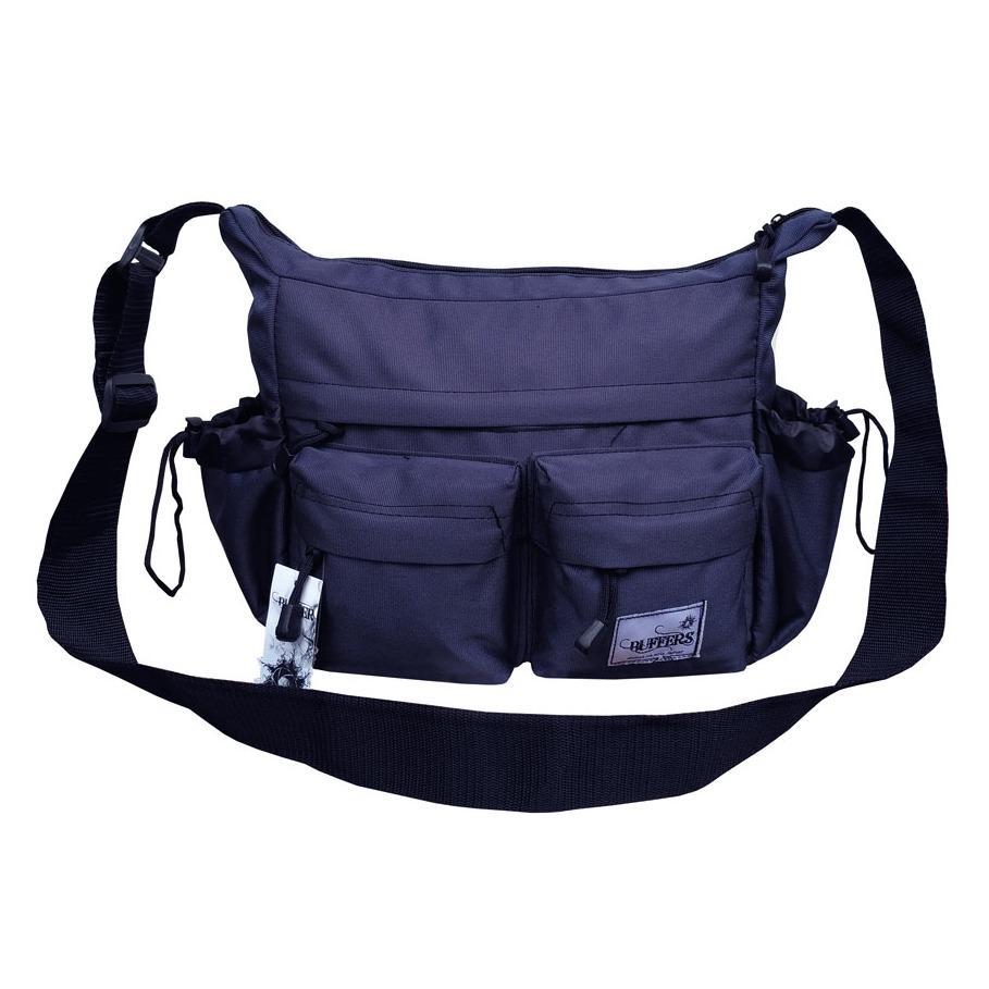 Buffers Tas Selempang Sports - Shoulder Bag Cordura LLC3912 - Dark Blue - Tas Sandang Pria Tas Messenger Tas Slempang Crossbody Man Tas Fashion Pria