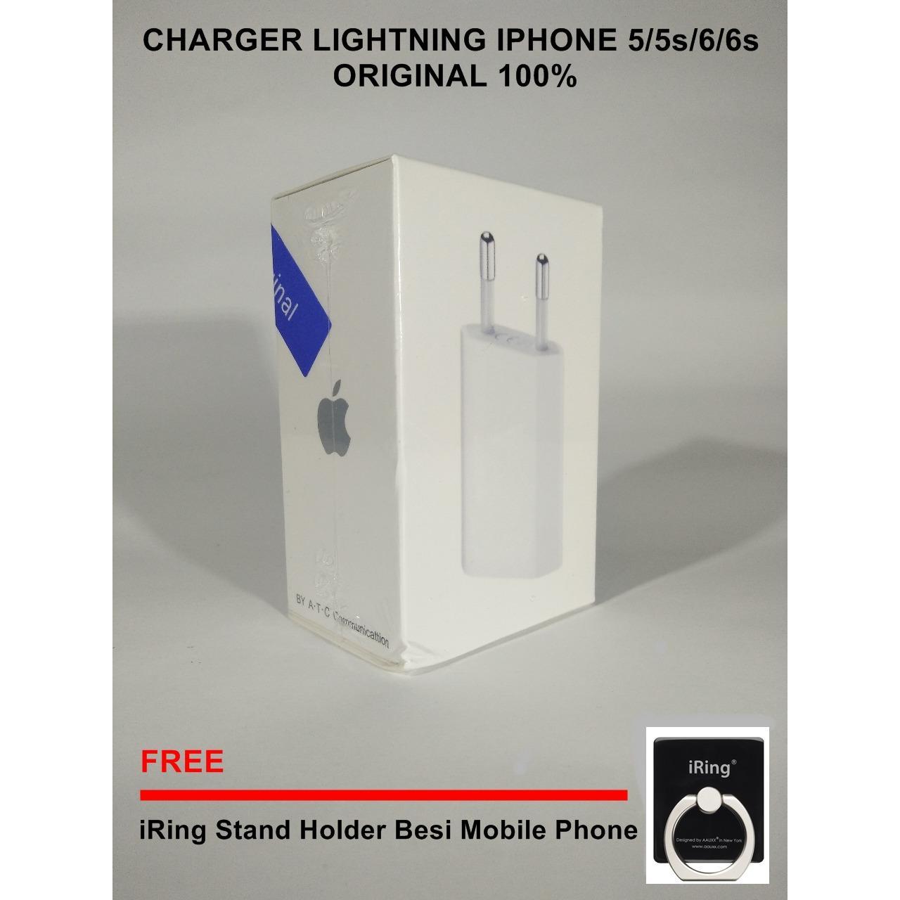Harga Gold Store Charger Kabel Iphone 5 5S 6 6 Original Lightning Baru