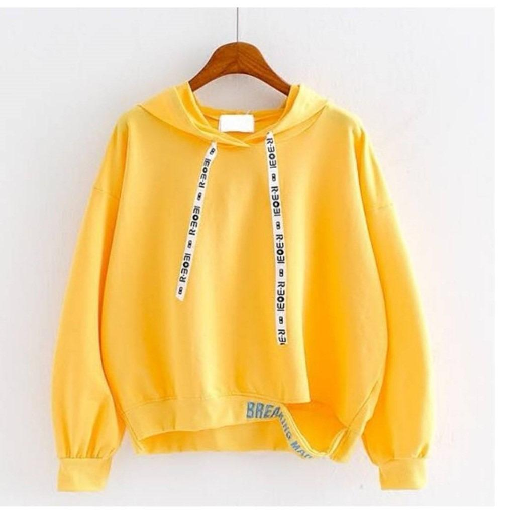 Harga 3K Fashion Breaking Hodie Sweater Sweater Wanita Hodie Fleece 3K Fashion Ori