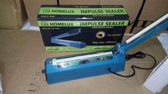 ... ASLI!!! impulse sealer Q2/pres plastik pfs200 20cm - Rao6UR - 3
