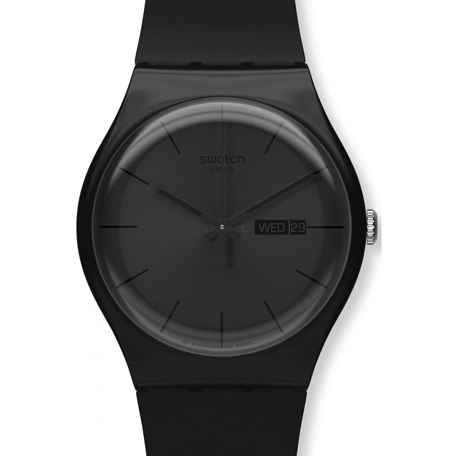 Rp 819.900. Swatch ORIGINAL - Jam Tangan UNISEX - Hitam - Strap ...