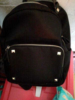 Atdiva Tas Ransel Fashion Import Unisex Four Stud Aksen - Hitam