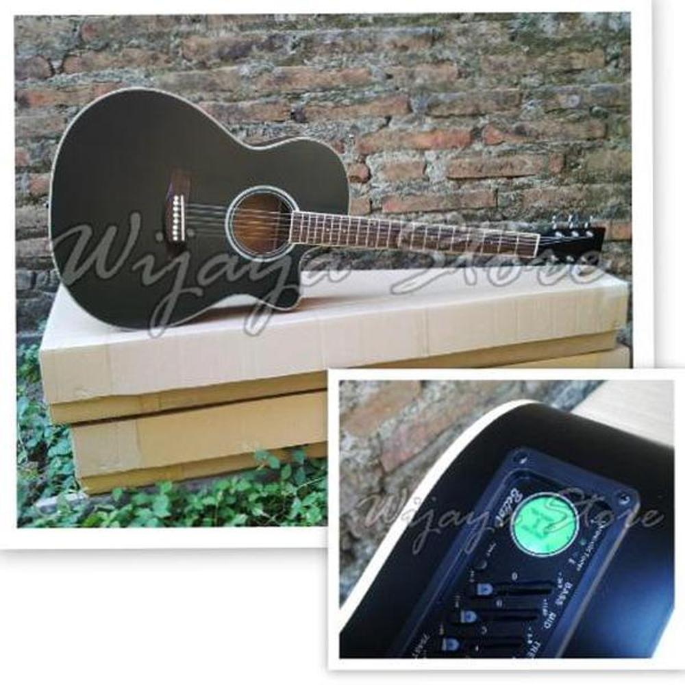 PROMO.....Gitar grand blackdoft akustik elektrik EQ7545T tuner chromatic
