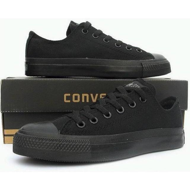 Sepatu Converse All Star Hitam Full -Grade Ori - Rrxcsj