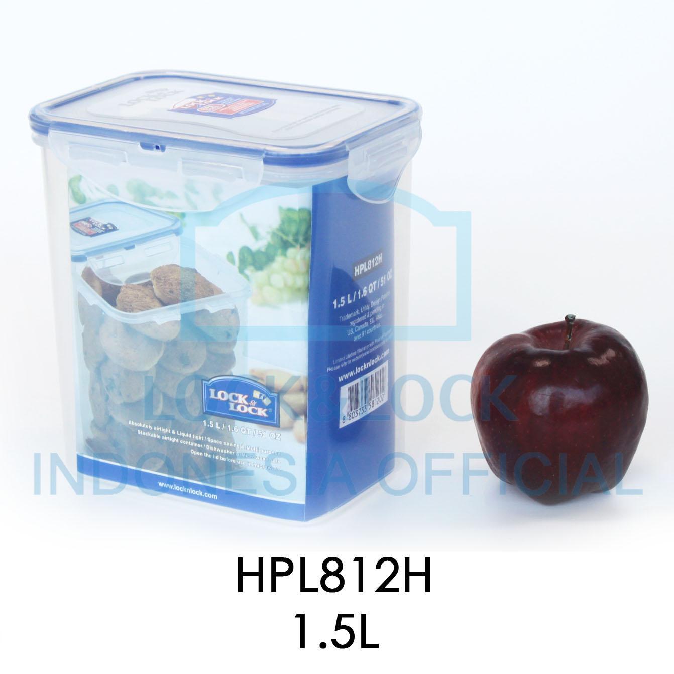 Locklock Food Container Hpl855 Square Tall 860ml Referensi Daftar Hpl934hc 690ml Detail Gambar Tempat Penyimpanan Makanan Serbaguna Hpl812h Rectangular 15