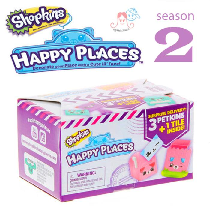SHOPKINS Happy Places Season 2 Blind bag / pack - WyyVX3