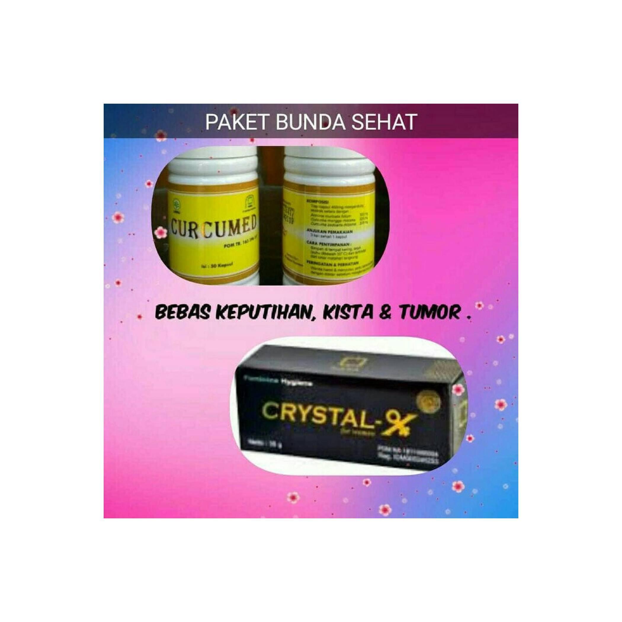 Paket Kista (Crystalx+Curcumed) Original/ Agen Nasa Jakarta 1
