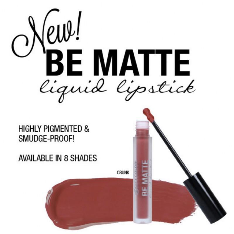 City Color Be Matte Liquid Lipstick
